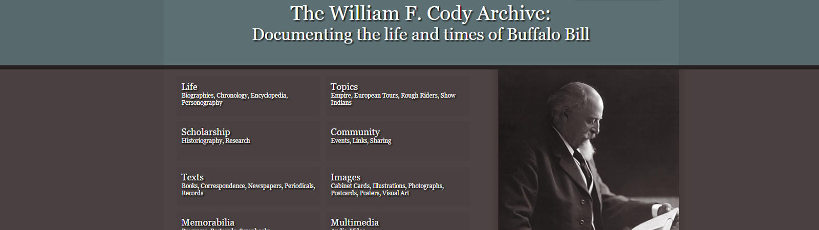 The William F. Cody Archive