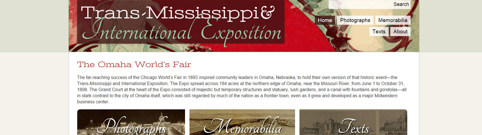 Transmississippi and International Exposition Digital Archive